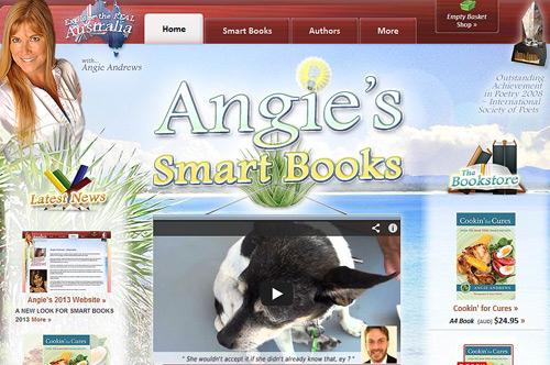 Angie's 2013 Website